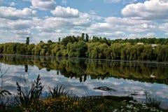 Lac mirror Image libre de droits