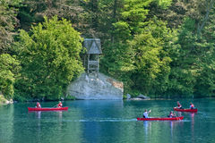 Lac Mohonk Photos libres de droits