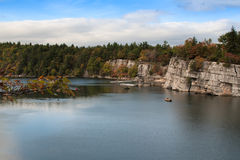 Lac Mohonk, New York Photos libres de droits