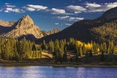 Lac Molas, au sud de Silverton, le Colorado, racine 550 photo stock