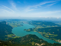 Lac Mondsee Photo stock