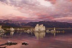 Lac mono image libre de droits