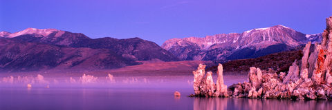 Lac mono Photo stock