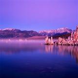 Lac mono Photos stock