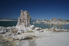 Lac mono photographie stock