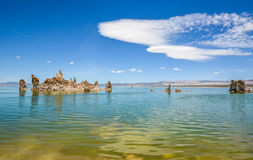 Lac mono photo libre de droits