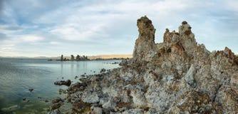 Lac mono en Californie, Etats-Unis photos libres de droits
