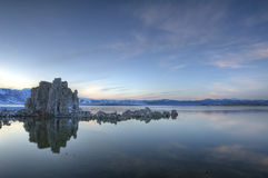 Lac mono, la Californie Images libres de droits
