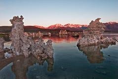 Lac mono la Californie images stock