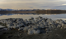 Lac mono, la Californie, Etats-Unis Image stock