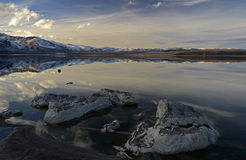 Lac mono, la Californie, Etats-Unis Photographie stock libre de droits