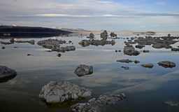 Lac mono, la Californie, Etats-Unis Photo stock