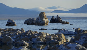 Lac mono, la Californie, Etats-Unis Photos stock
