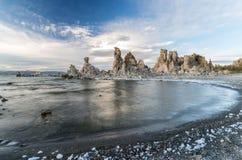 Lac mono landscape image stock