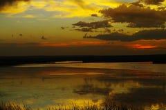 Lac Montana medicine photographie stock