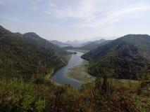 Lac Montnegro Skadar Image stock