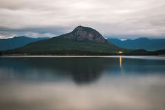 Lac Moogerah au Queensland au cours de la journée photographie stock libre de droits