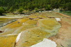 Lac moon bleue de Yunnan Lijiang photo libre de droits