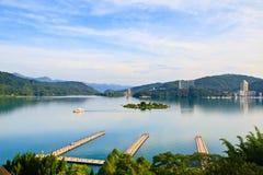 Lac moon de Sun, Taïwan Image stock