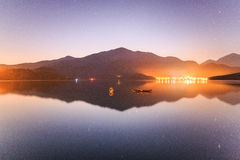 Lac moon de Sun, Taïwan Photographie stock
