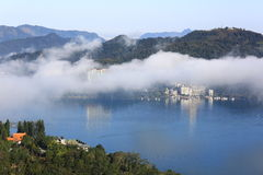 Lac moon de Sun, Taïwan Photographie stock libre de droits
