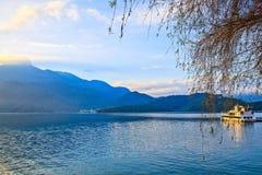 Lac moon de Sun, Taïwan Photos libres de droits