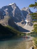 Lac moraine Photographie stock libre de droits