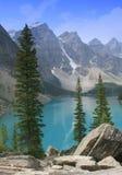 Lac moraine (13) Images libres de droits