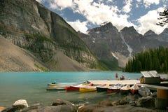 Lac moraine Photo libre de droits
