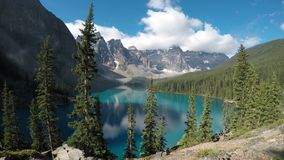 Lac moraine Image stock