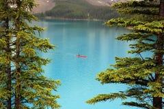 Lac moraine Photographie stock libre de droits