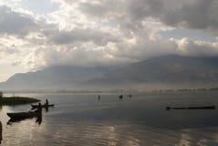 Lac Morogoro Photos libres de droits