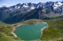 Lac mountain Images libres de droits