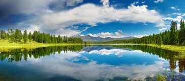 Lac mountain photo stock