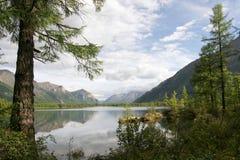 Lac mountain Photo stock