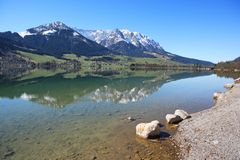 Lac mountain Images stock