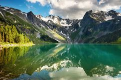 Lac mountain Photographie stock