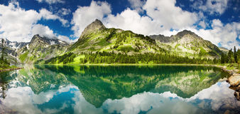 Lac mountain photographie stock libre de droits