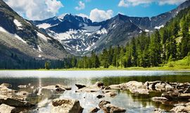 Lac mountain photos stock