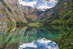 Lac 2 mountain Image stock