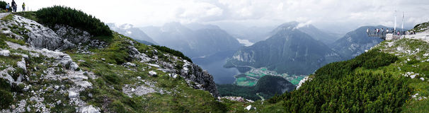Lac mountain de Hallstatt Autriche 6 Images stock