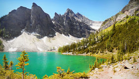 Lac mountain de paysage de Canada Image stock