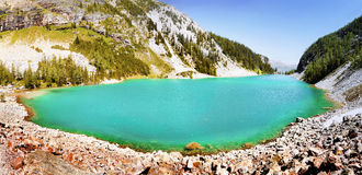 Lac mountain de paysage de Canada Images libres de droits