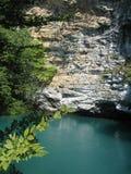 Lac mountain en l'Abkhazie Photographie stock libre de droits
