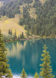 Lac mountain, Kazakhstan Photos libres de droits