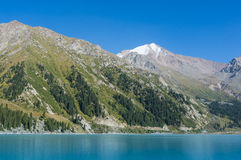 Lac mountain, Kazakhstan Image stock
