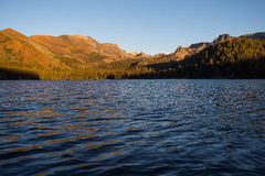 Lac mountain, lacs gigantesques, la Californie Image libre de droits