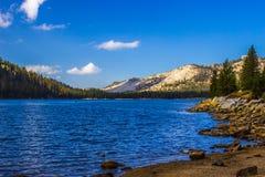 Lac mountain pendant le matin au parc de Yosemite Photographie stock libre de droits