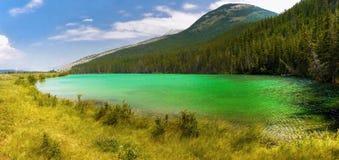 Lac mountain, sentiers de randonnée, Canada Photo stock
