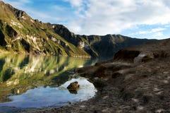 Lac mountains Image libre de droits